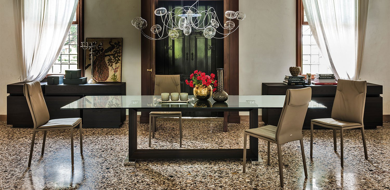 Monaco Dining Table from Cattelan Italia, designed by Giorgio Cattelan
