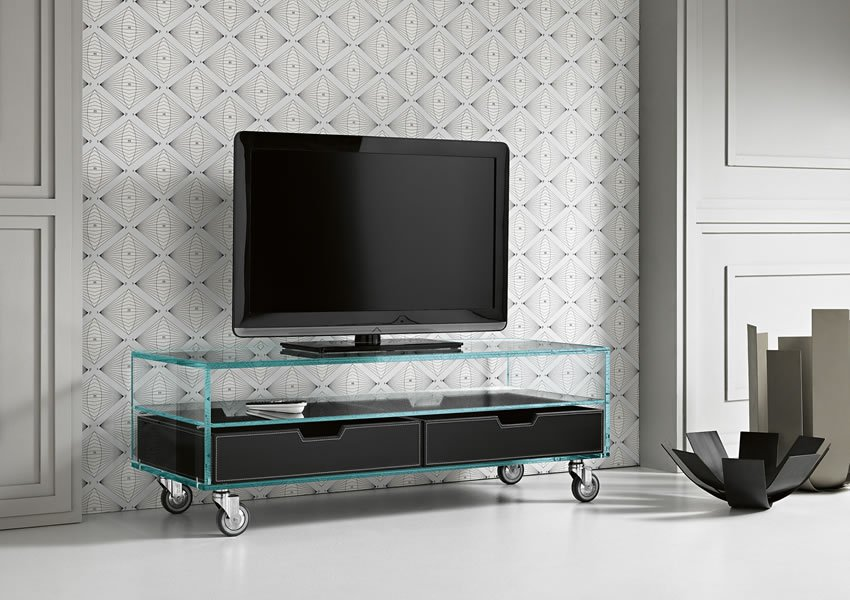 Como Basso tv unit from Tonelli, designed by Marco Gaudenzi