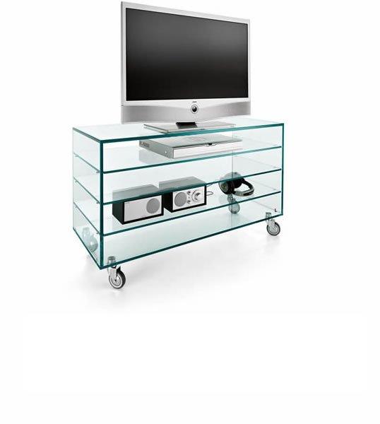 Como Alto tv unit from Tonelli, designed by Marco Gaudenzi