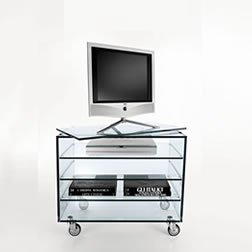 Grattacielo Fix tv unit from Tonelli