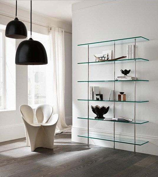 Transparenza bookcase from Tonelli