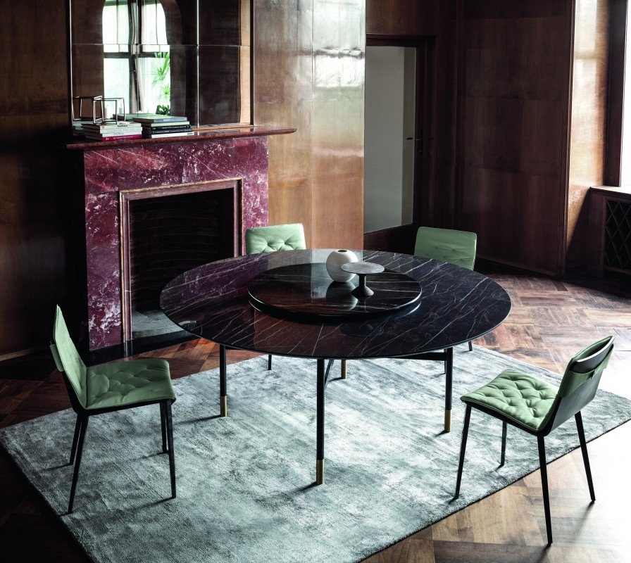Glamour dining table from Bontempi