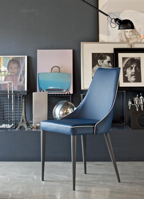 Clara M, chair from Bontempi