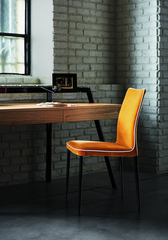 Nata, chair from Bontempi