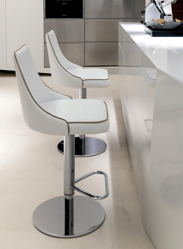 Clara Barstool from Bontempi, designed by  R&D Bontempi Casa
