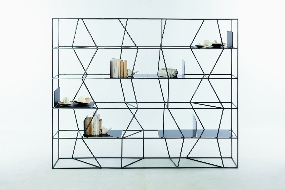 Lexington EX bookcase from Bontempi