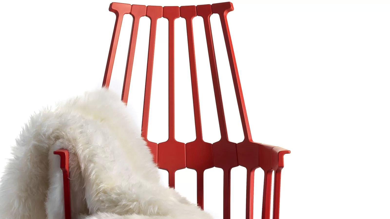 Comback Swivel chair from Kartell, designed by Patricia Urquiola