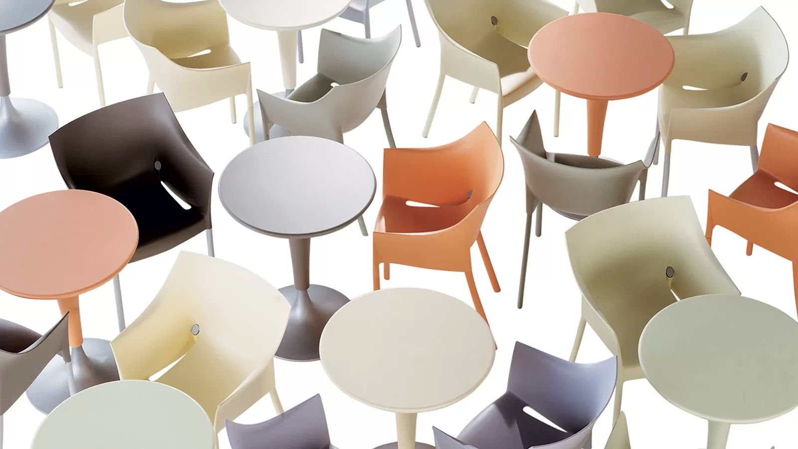 Dr Na Table dining from Kartell, designed by Philippe Starck