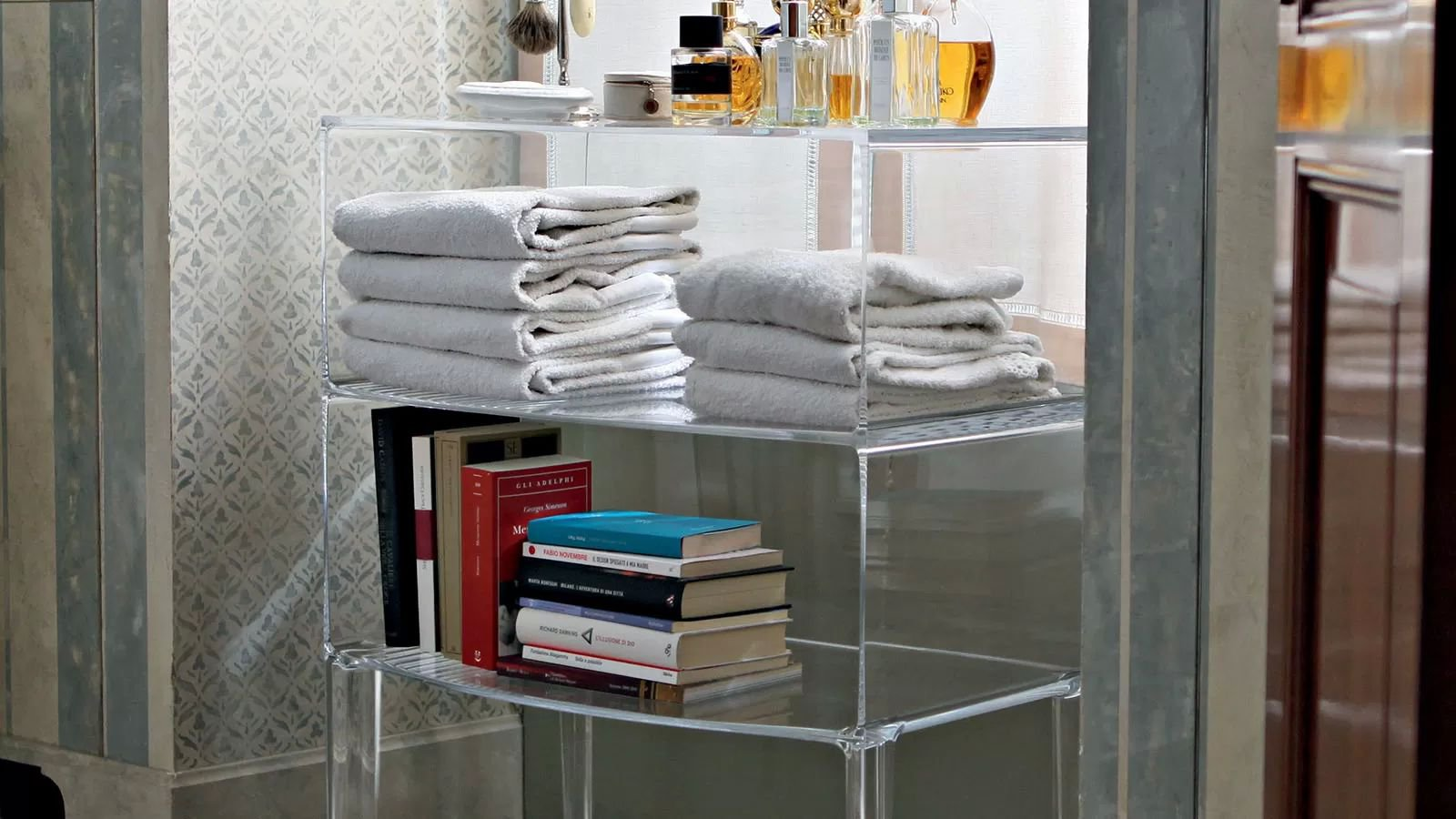 Ghost Buster storage from Kartell, designed by Philippe Starck
