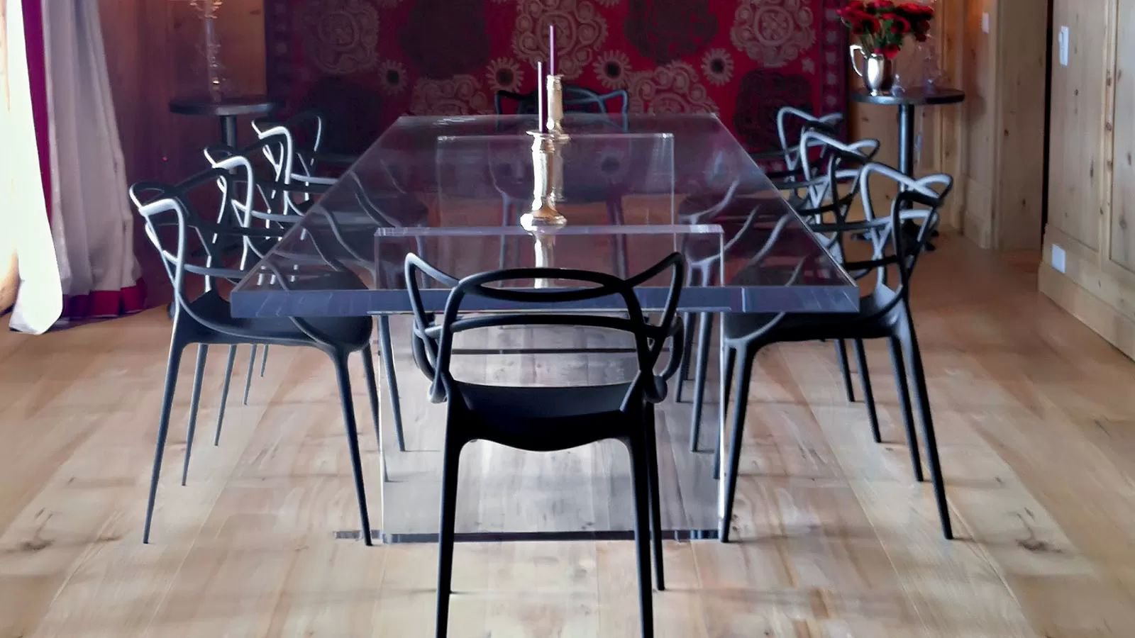 Masters chair from Kartell, designed by Philippe Starck