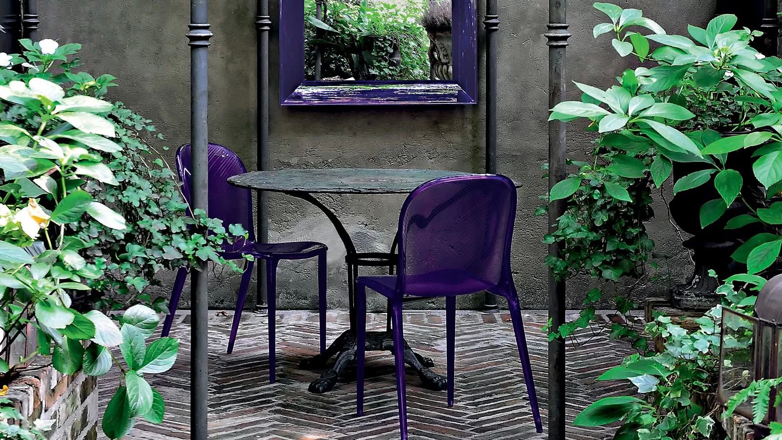 Thalya chair from Kartell, designed by Patrick Jouin