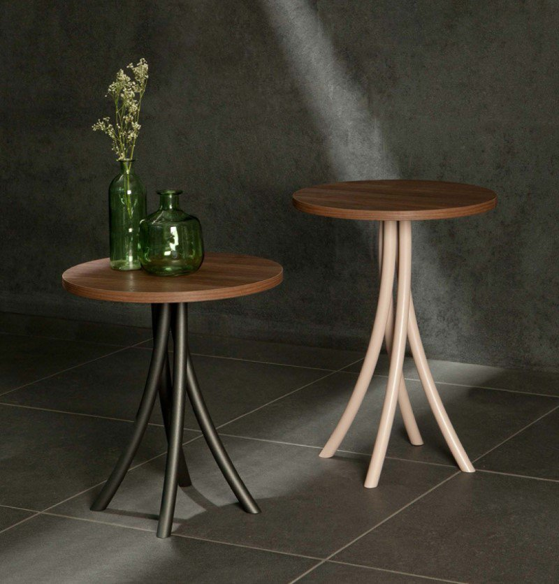 Sigma End Table from Tonin Casa