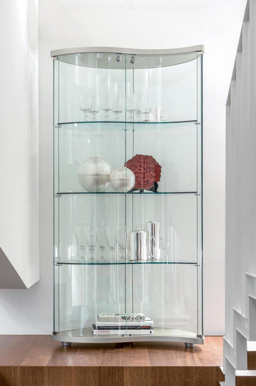 Oregina Glass Bookcase from Tonin Casa