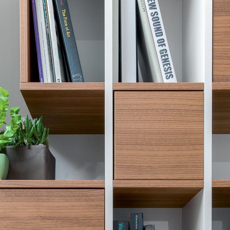 Castle Wooden Bookcase from Tonin Casa