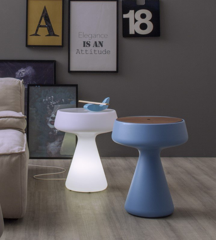 Maki Side Table storage from Tonin Casa