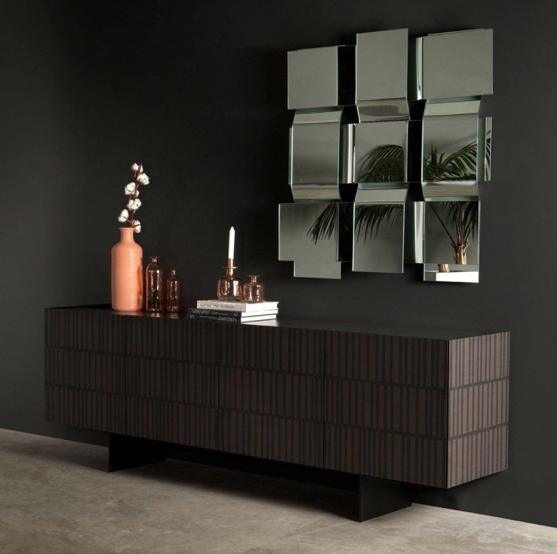 Flamingo Wooden Cabinet from Tonin Casa