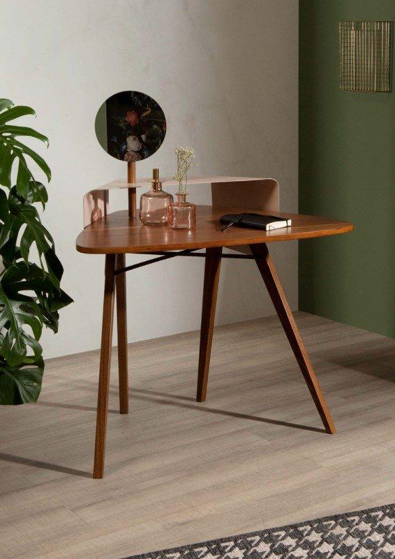 Nipper Wood and Metal Writing Desk from Tonin Casa