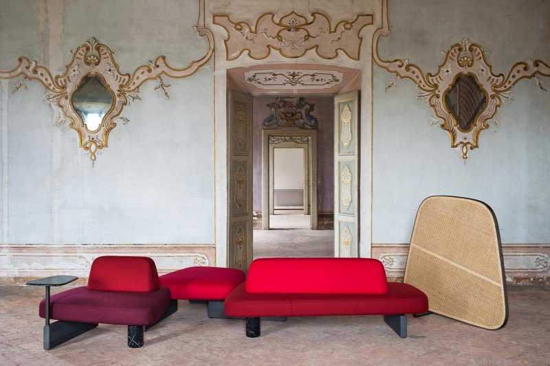 Ischia Sofa modular from Tacchini, designed by PearsonLloyd