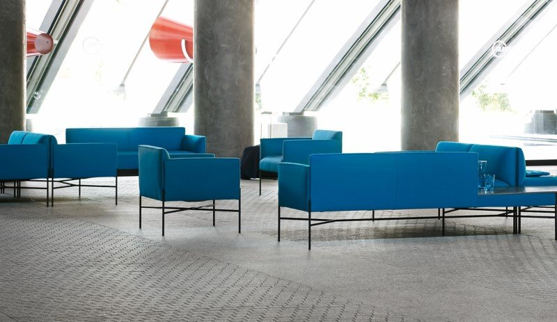 Chill Out Sofa modular from Tacchini, designed by Gordon Guillaumier