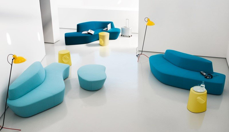 Polar Sofa modular from Tacchini
