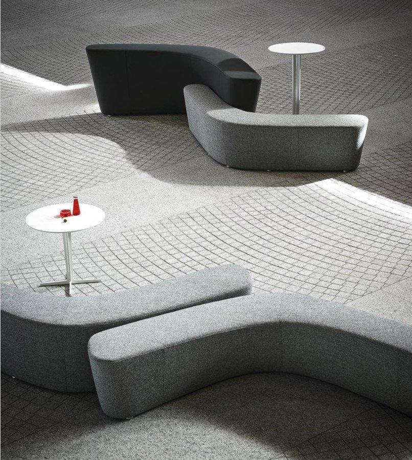 Polar Perch Sofa modular from Tacchini