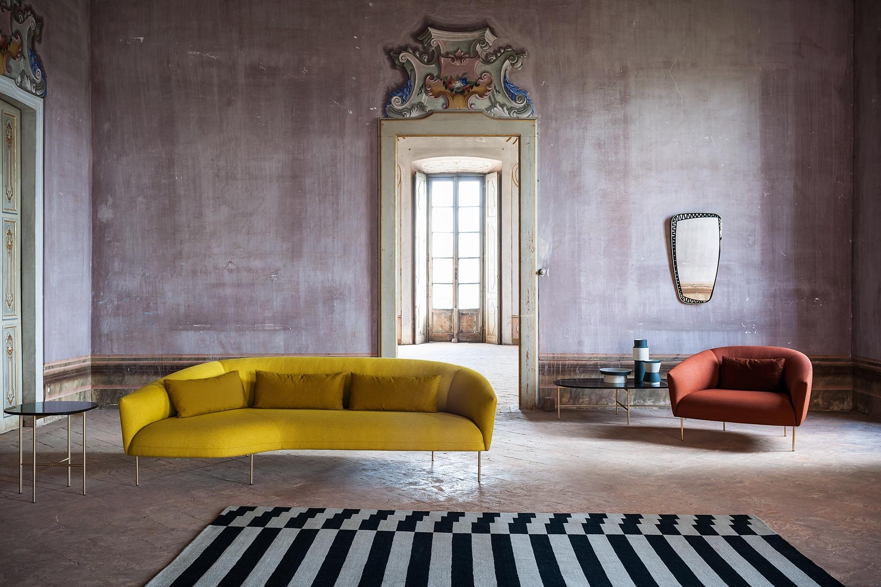 Roma Sofa from Tacchini