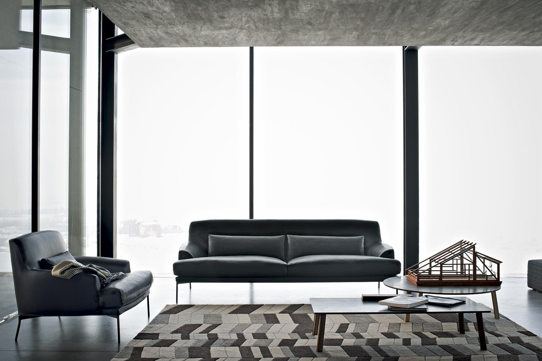 Montevideo sofa from Tacchini, designed by Claesson Koivisto Rune
