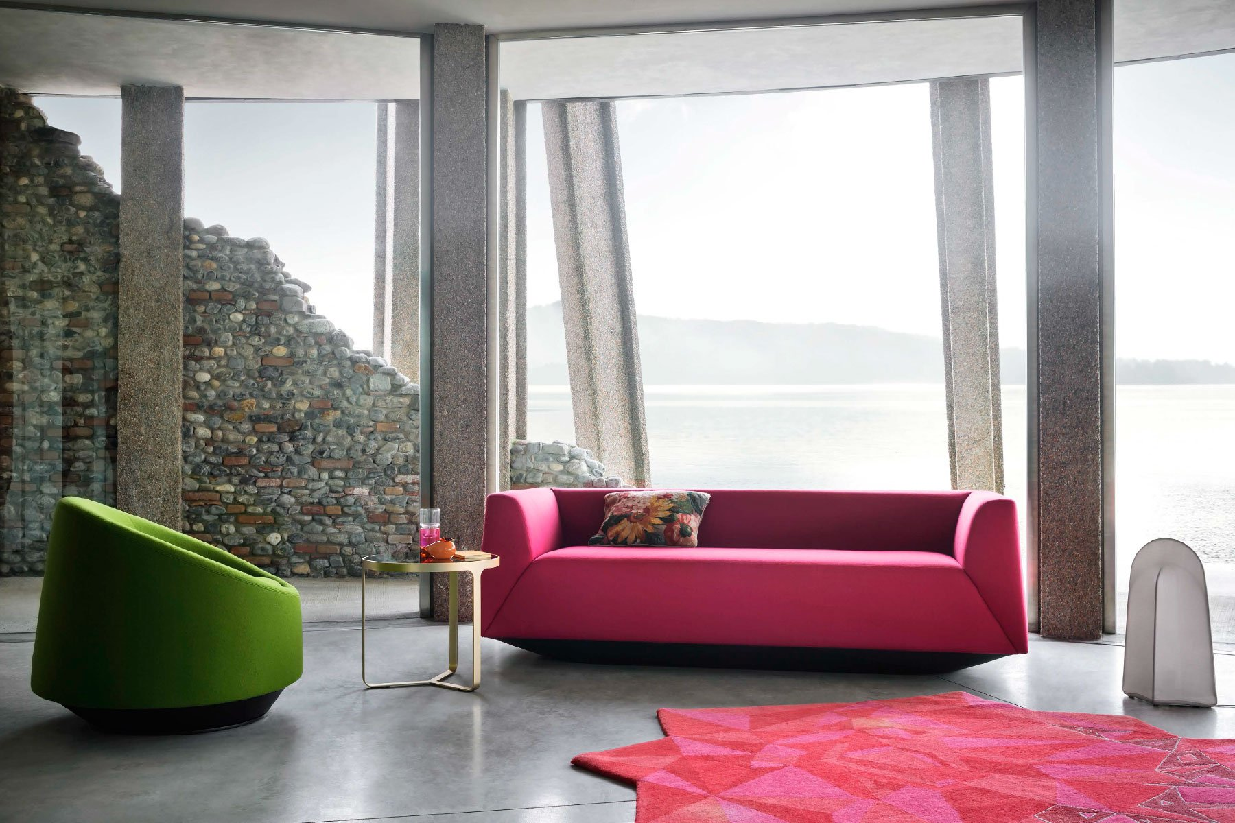 Crystal Sofa from Tacchini