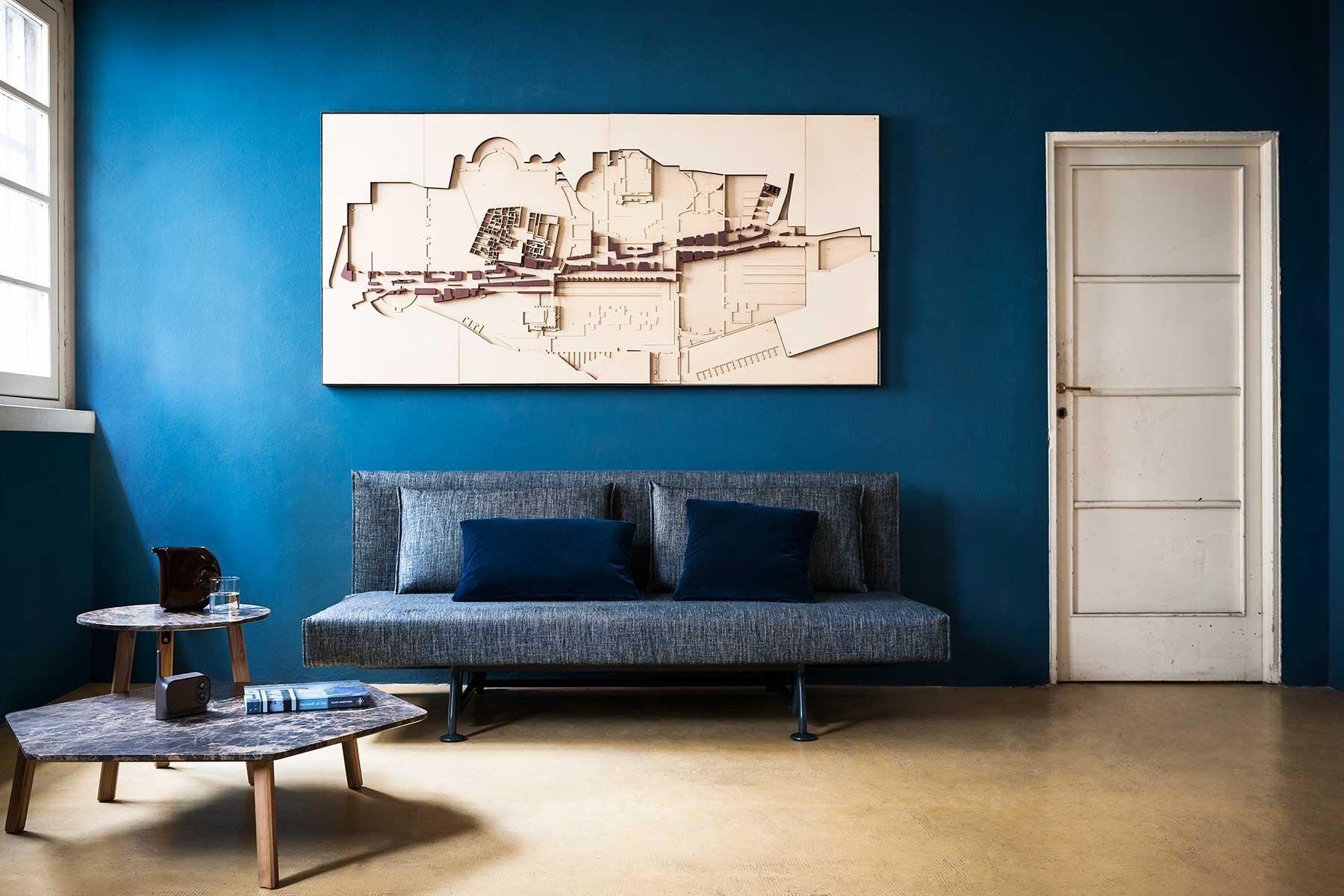 Sliding Sofa from Tacchini, designed by Pietro Arosio