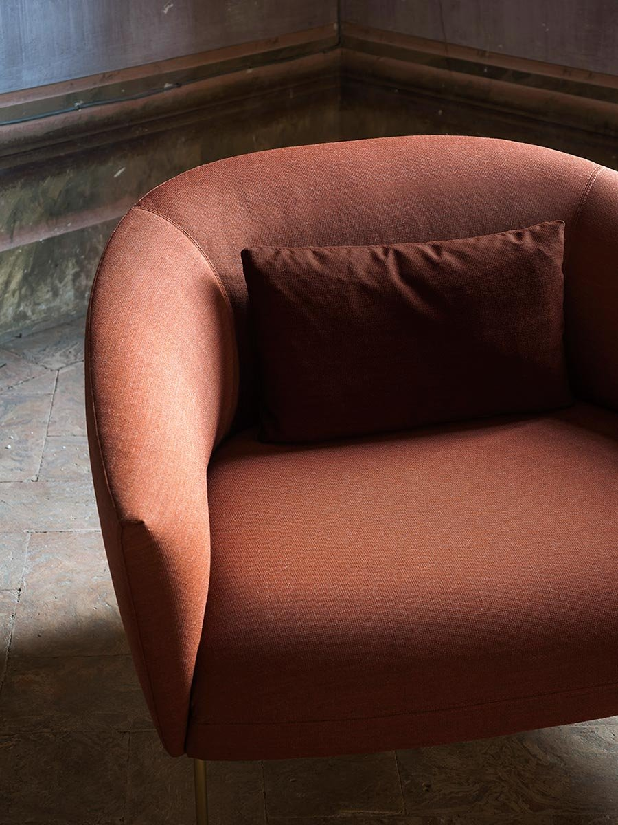 Roma Armchair lounge from Tacchini, designed by Jonas Wagell
