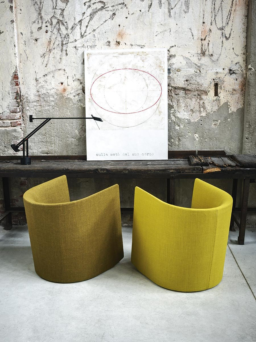 Pisa Armchair lounge from Tacchini