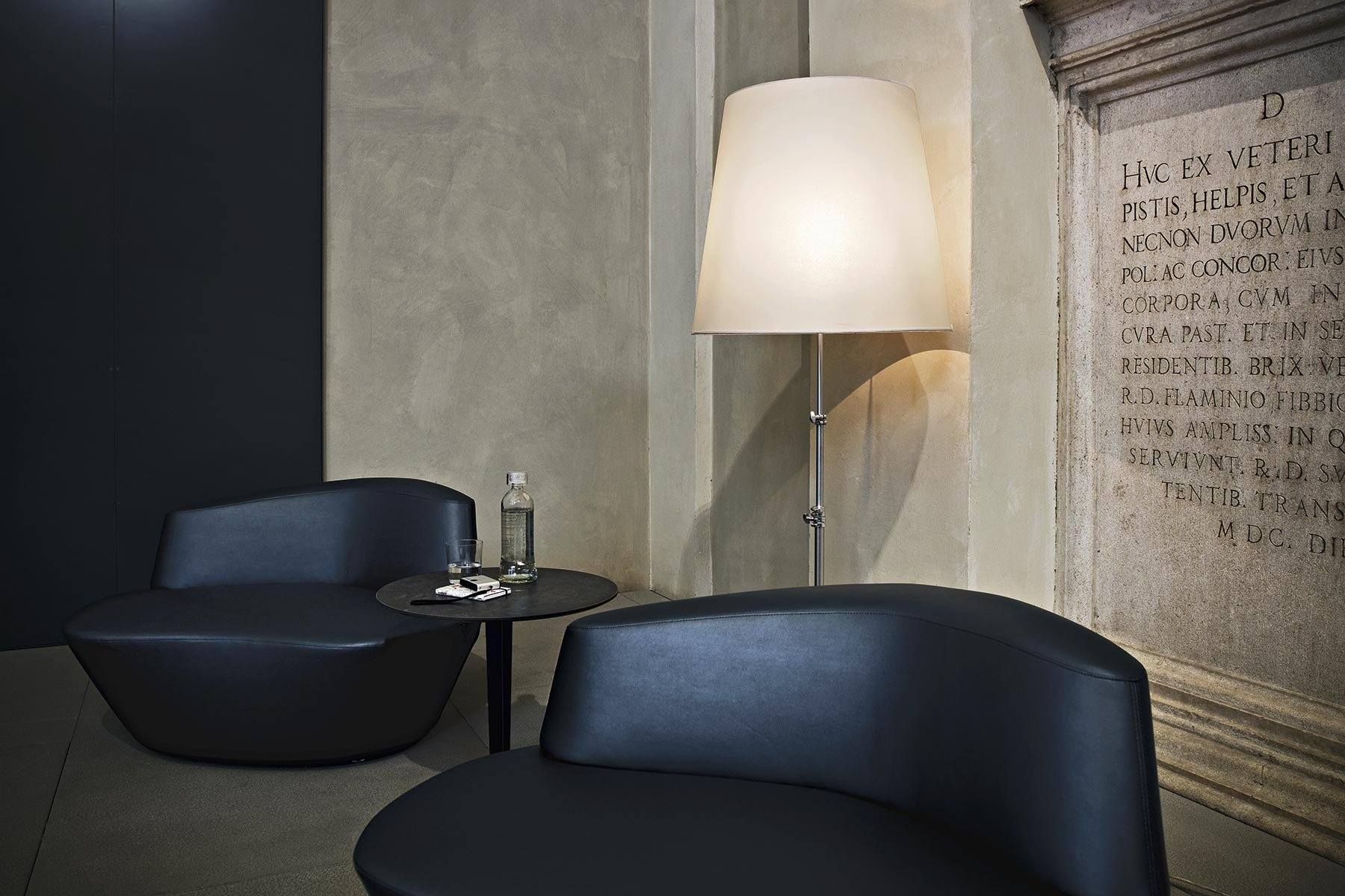 Polar Armchair lounge from Tacchini, designed by PearsonLloyd