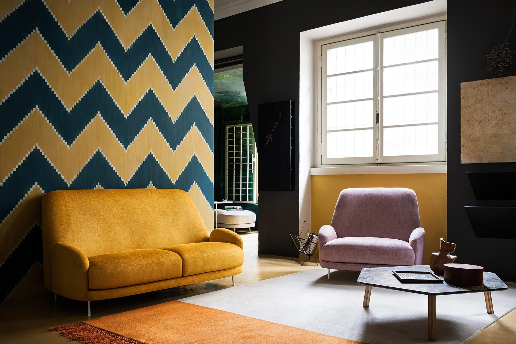 Santiago Armchair lounge from Tacchini, designed by Claesson Koivisto Rune