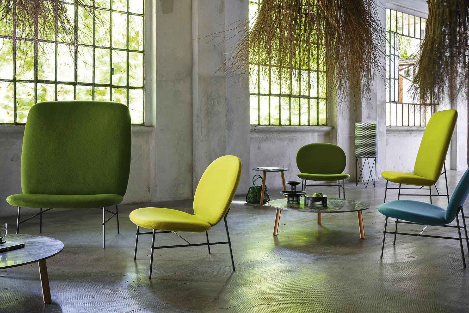 Kelly E Chair from Tacchini, designed by Claesson Koivisto Rune