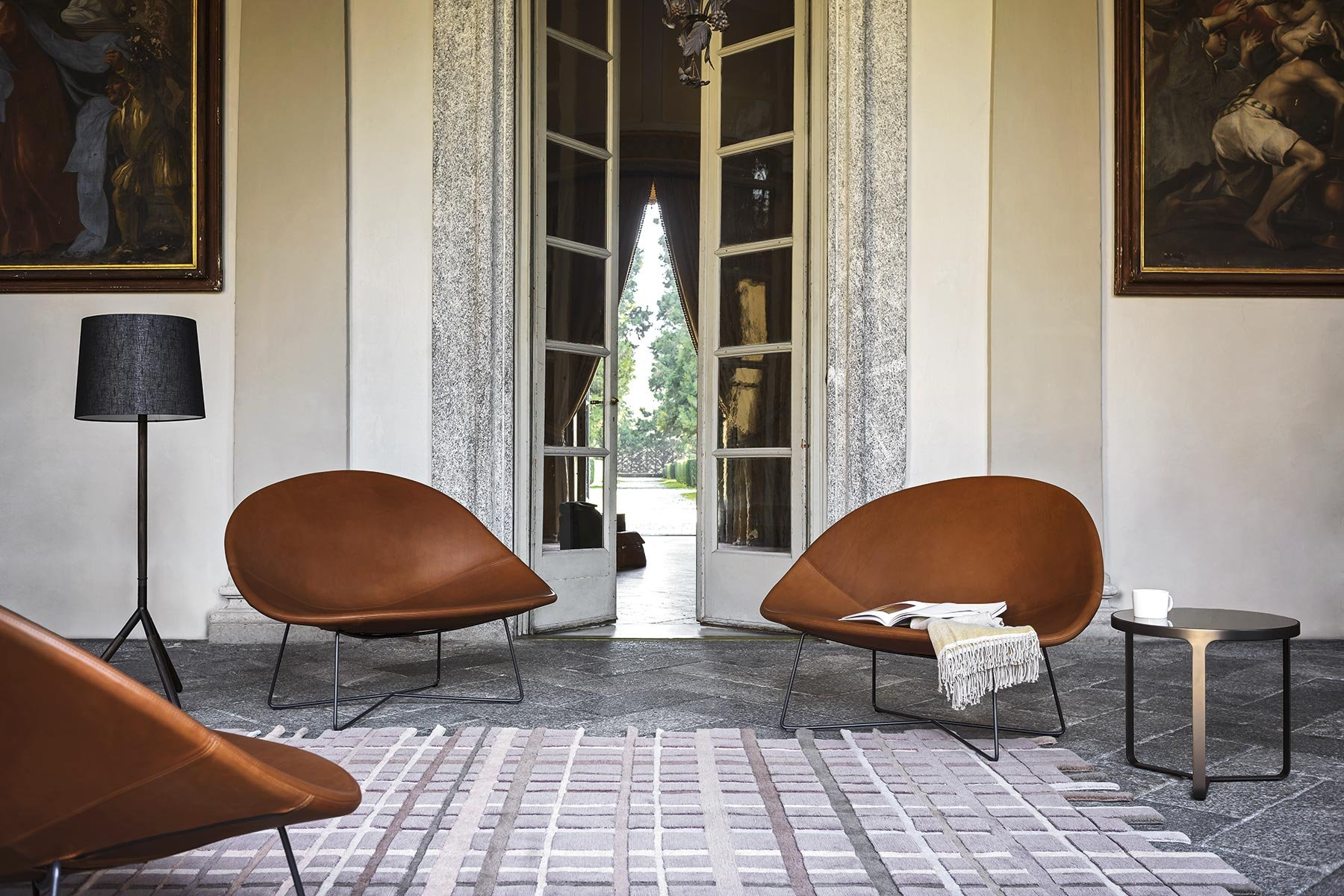 Isola Armchair lounge from Tacchini, designed by Claesson Koivisto Rune
