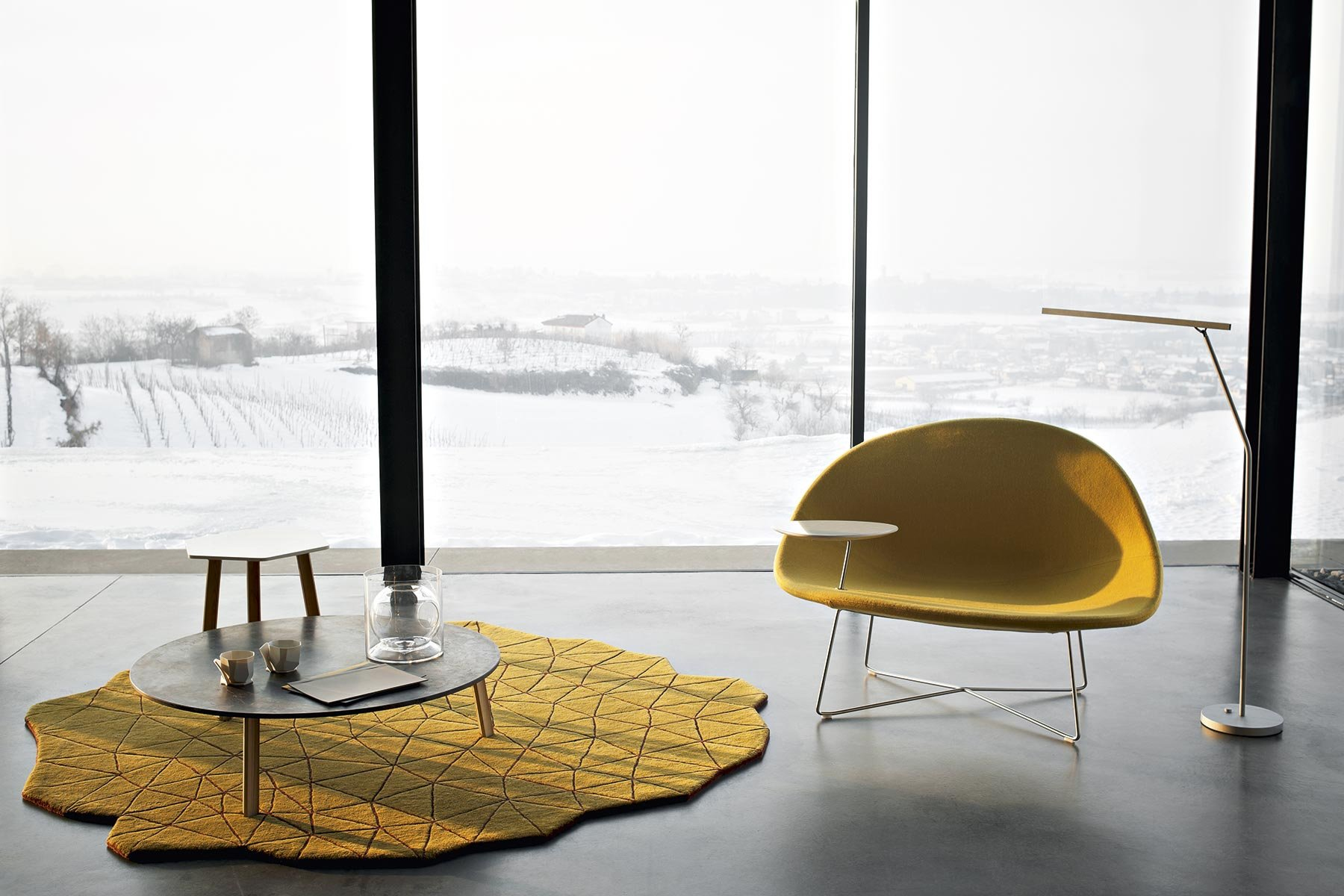 Isola Armchair from Tacchini