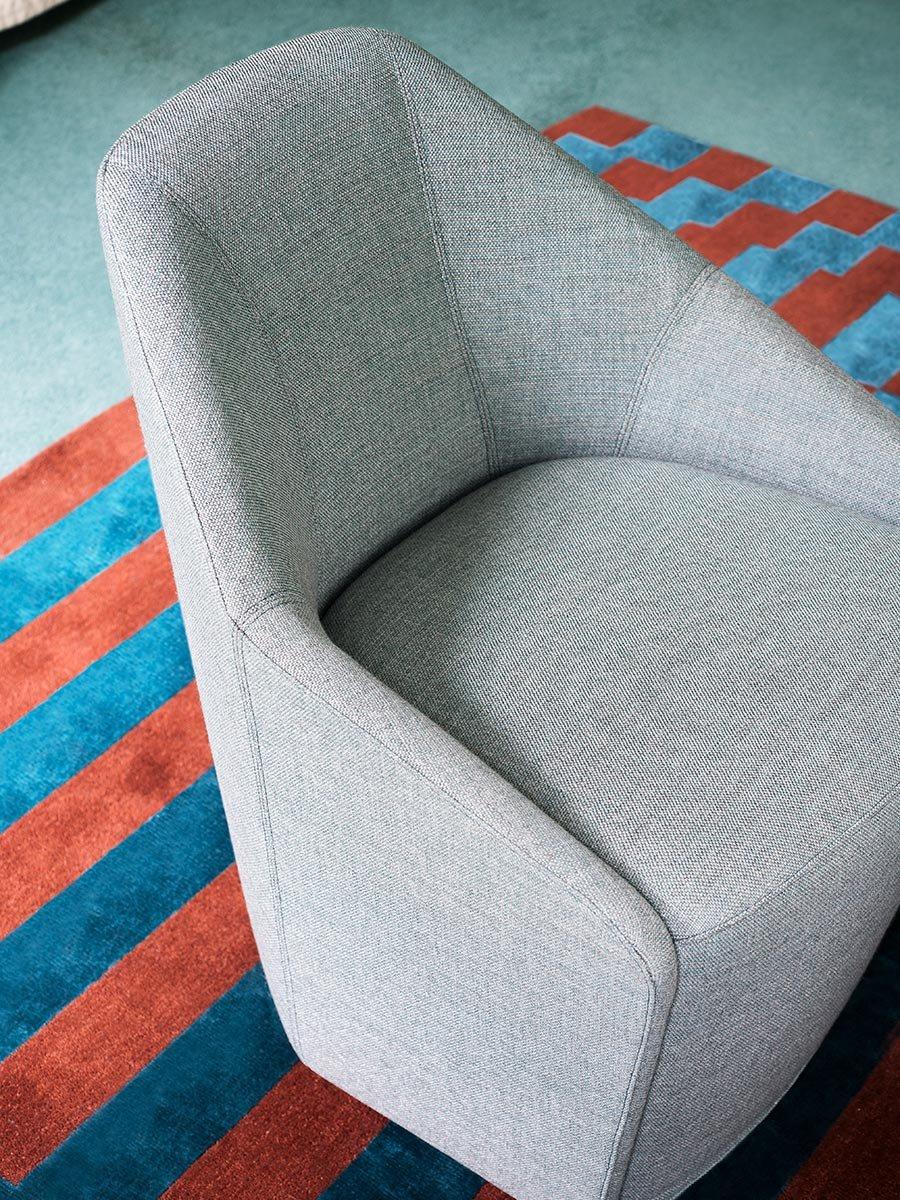 Misura Armchair lounge from Tacchini, designed by Claesson Koivisto Rune