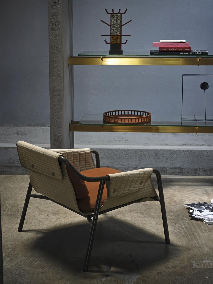 Jacket Armchair lounge from Tacchini