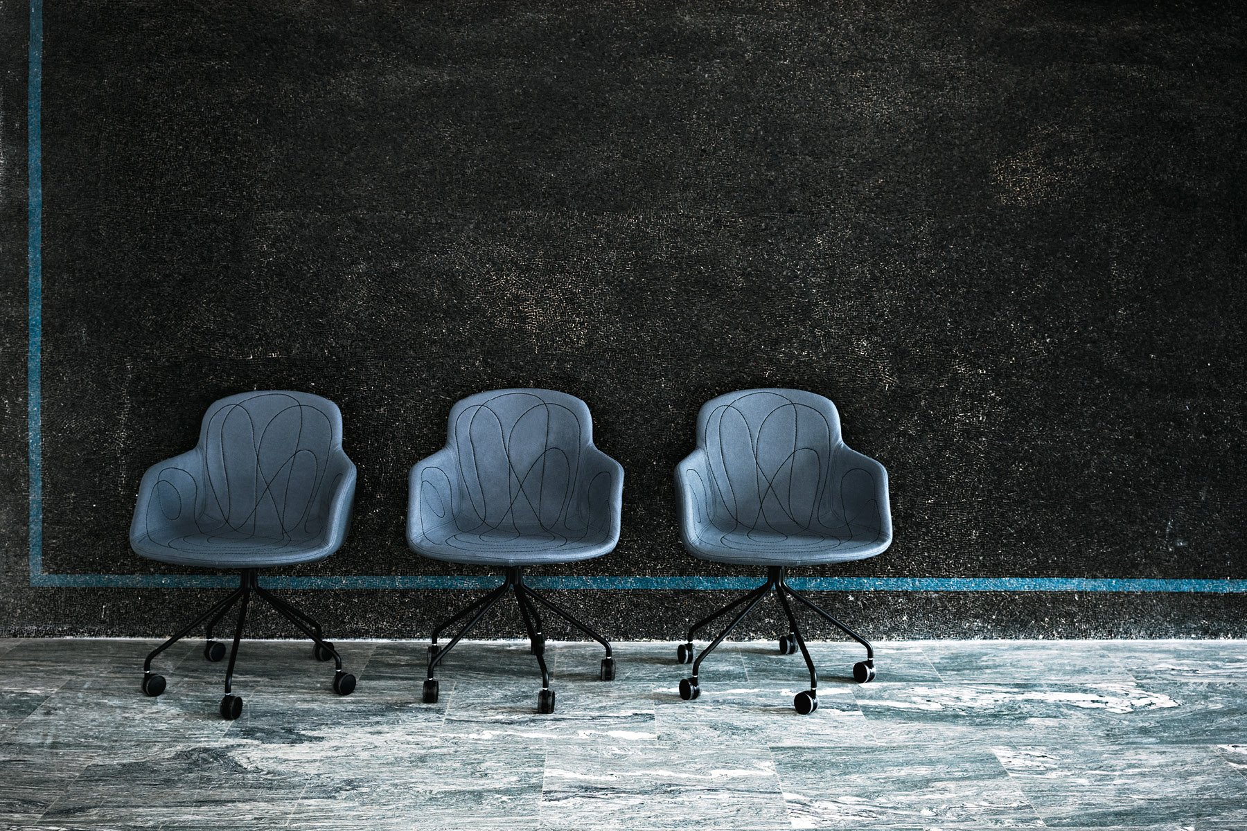 Doodle Armchair from Tacchini, designed by Claesson Koivisto Rune