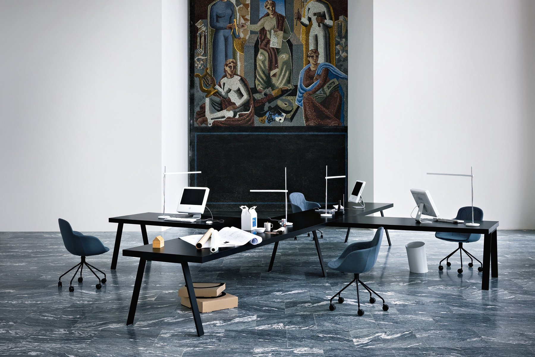 Doodle Armchair office from Tacchini, designed by Claesson Koivisto Rune