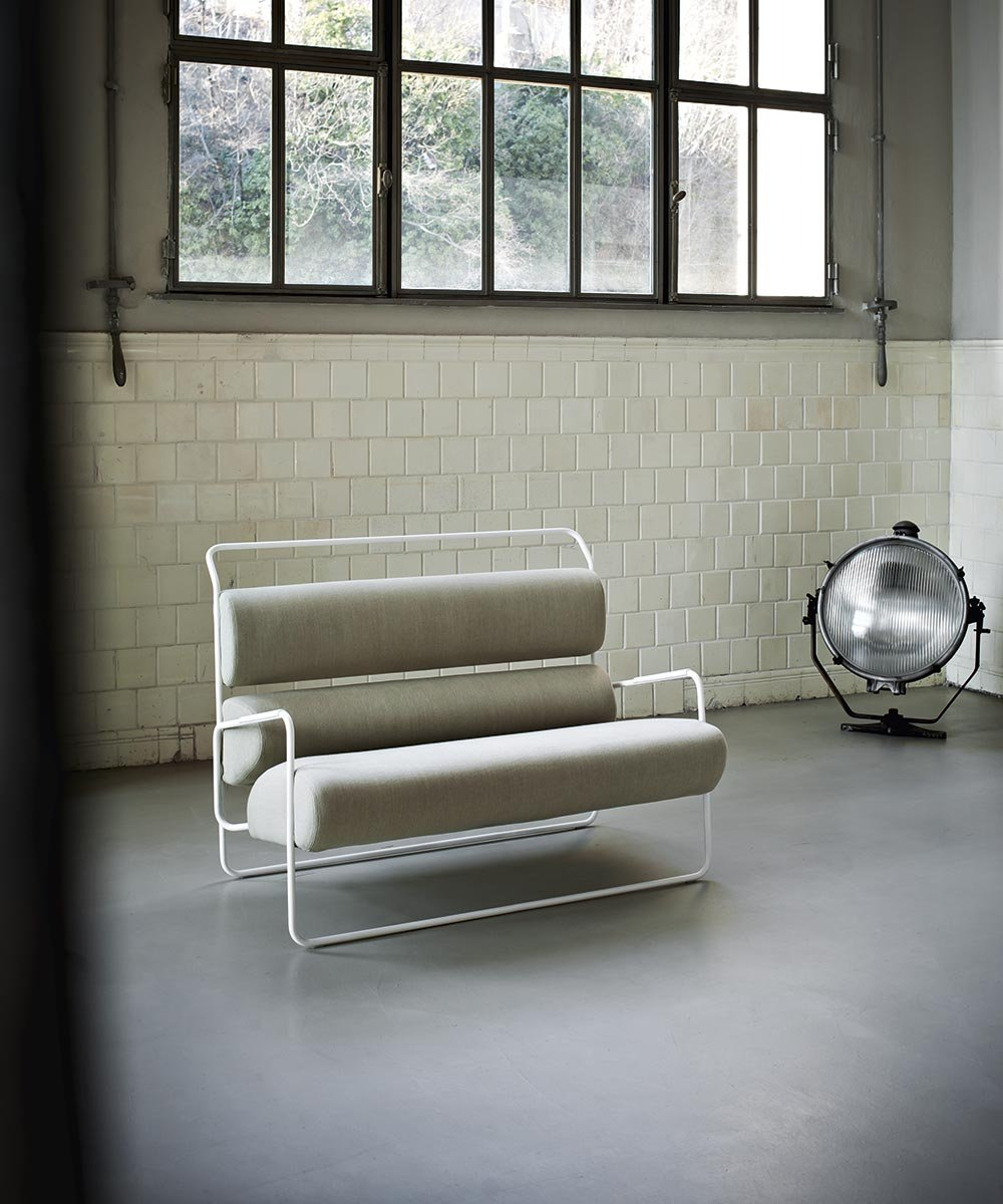 Sancarlo Armchair lounge from Tacchini, designed by Achille Castiglioni