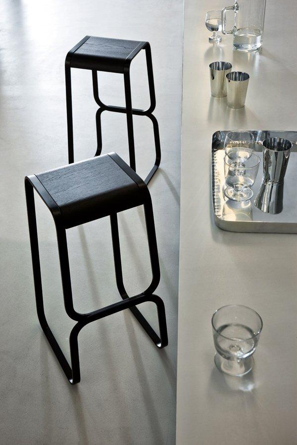Continuum Stool from lapalma, designed by Fabio Bortolani