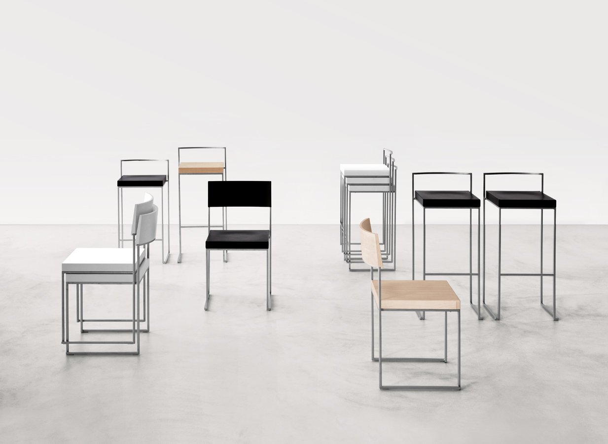 Cuba + Cubo Chair stool from lapalma, designed by Enzo Berti
