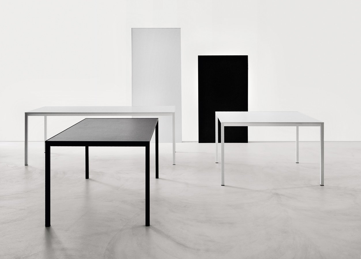 Frame Table computer desk from lapalma, designed by Tomoya Tabuchi