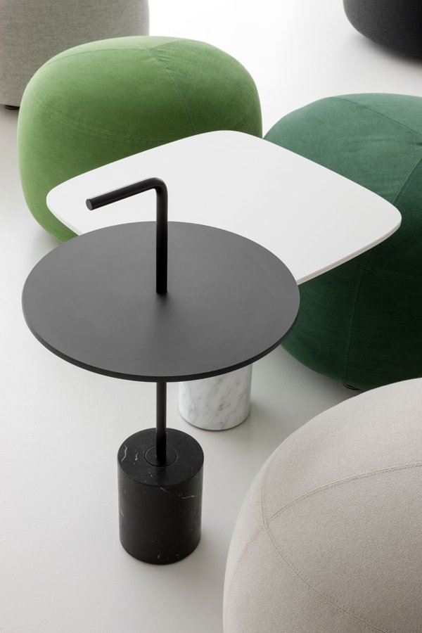 Jey Table end from lapalma, designed by Francesco Rota