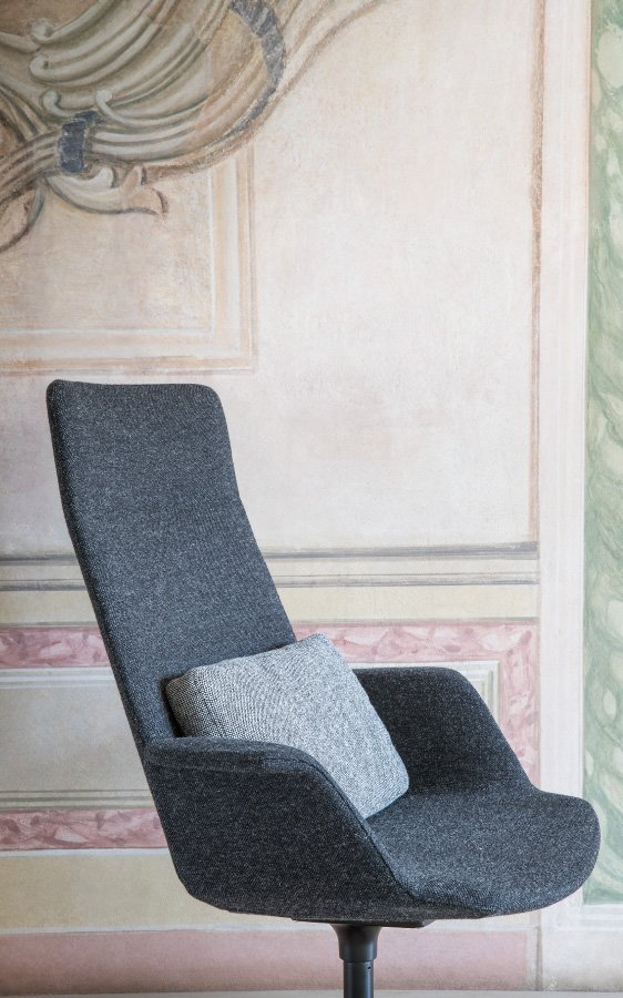 Oort Cushion accessory from lapalma, designed by Francesco Rota