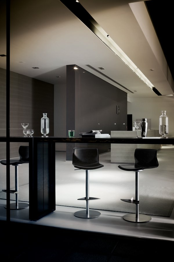 Panco Table bar from lapalma, designed by Romano Marcato