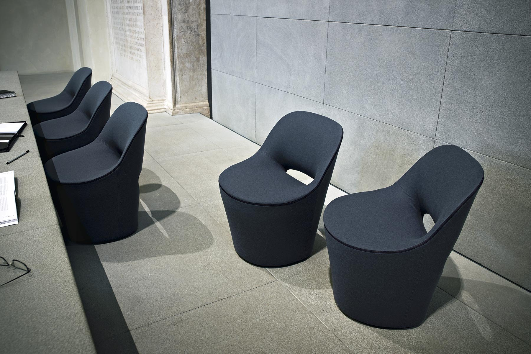 Eddy Chair lounge from Tacchini