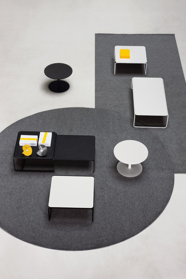 Toe Coffee Table from lapalma, designed by Romano Marcato