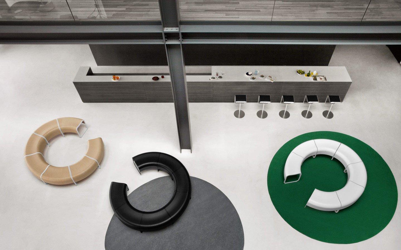 Za System Bench from lapalma, designed by Shin Azumi